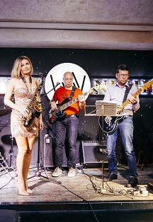 WEEKEND BAND. ACID JAZZ НА СЦЕНЕ WHITE NIGHT